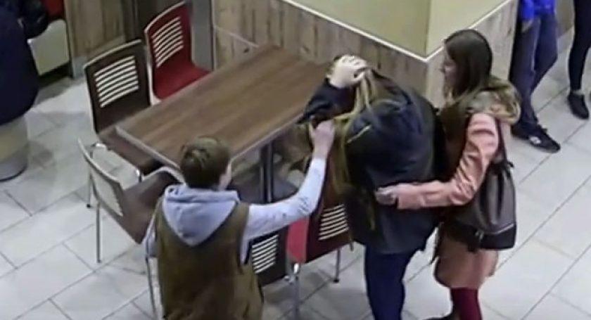 Столичная полиция обнародовала видео сразыскиваемым усатым агрессором изBurger King