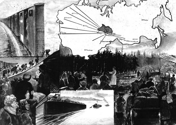 Процесс раскулачивания в СССР в 1929 — 1930-х годах