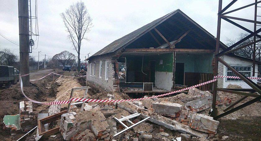 ВРечицком районе при обрушении погибли рабочие