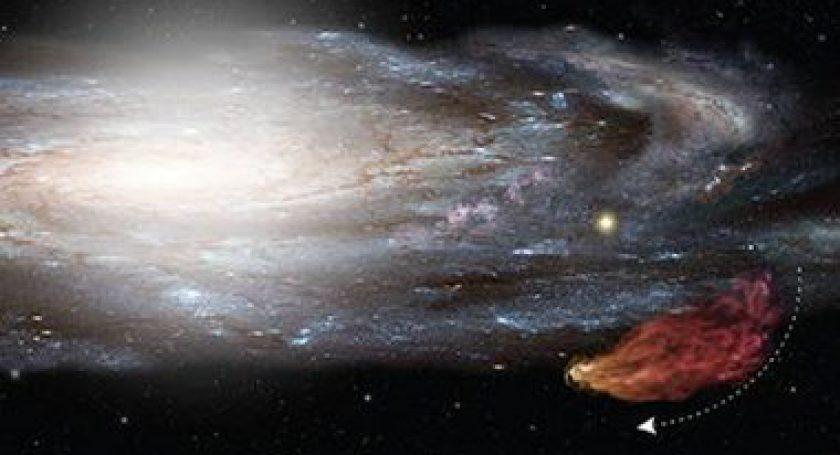 НаМлечный Путь надвигается внушительное газовое облако— Ученые NASA