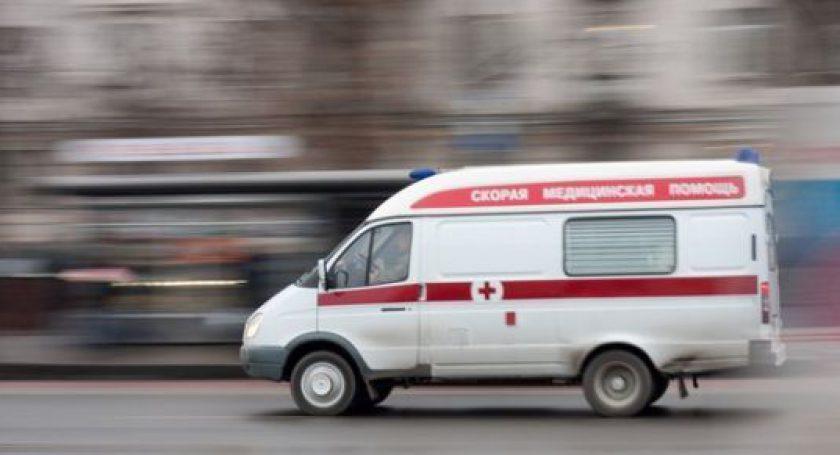 ВМогилеве машина скорой помощи сбила пешехода
