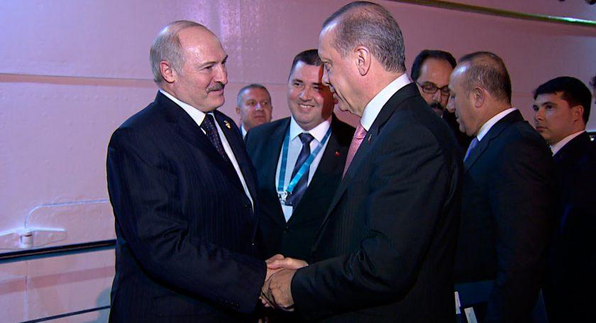 Президент Турции Эрдоган прибывает сегодня софициальным визитом вБеларусь
