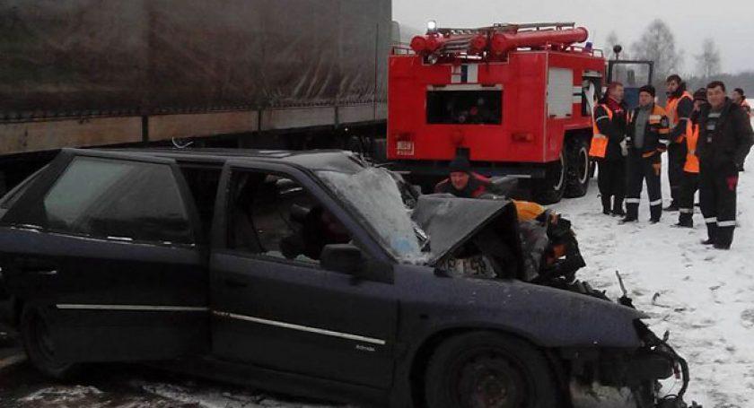ВВерхнедвинском районе cотрудники экстренных служб деблокировали пострадавшую вДТП