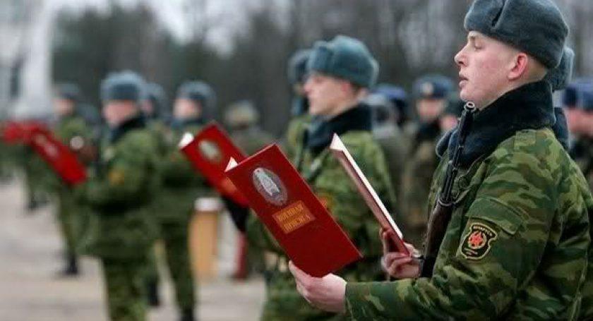 Около 1 тыс призывников примут присягу вБрестской крепости