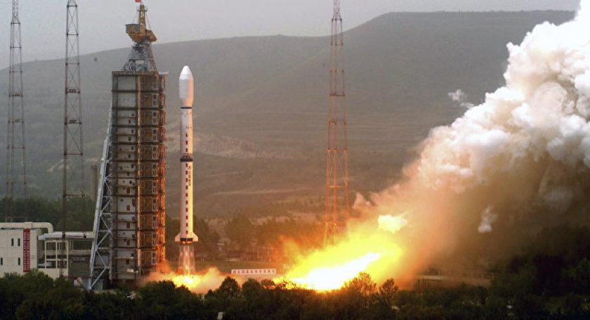 КНР запустил три спутника при помощи коммерческой ракеты-носителя