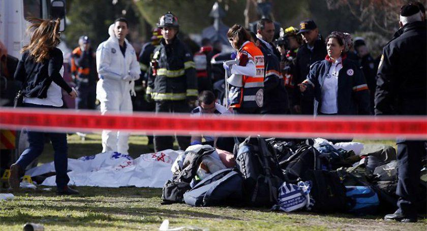 Число погибших атаки вИерусалиме выросло до четырех человек