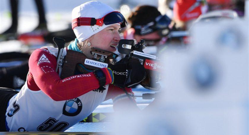 Дарья Домрачева вернулась наспортивную дистанцию