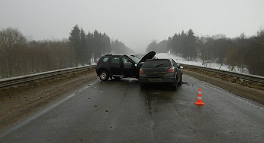 Авария вМинском районе: три человека пострадали
