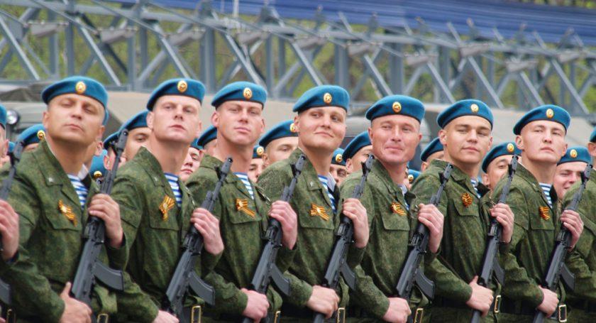 Делегация ВДВ Российской Федерации прибыла софициальным визитом вМинск