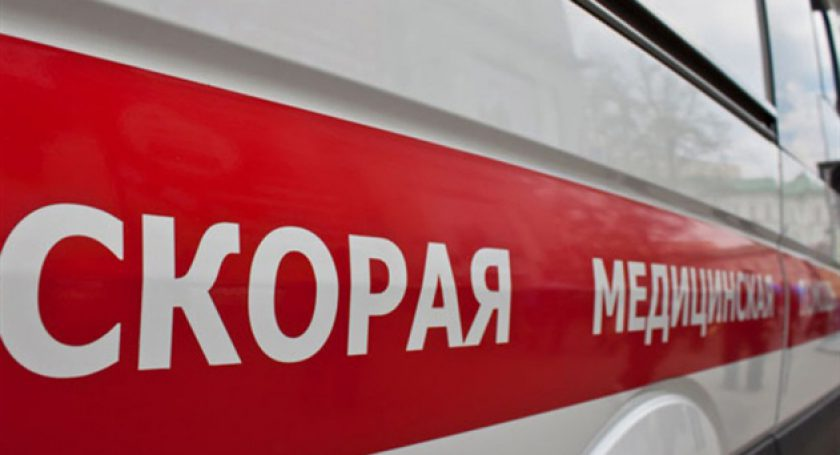 ВМинске два автомобиля переехали жителя России