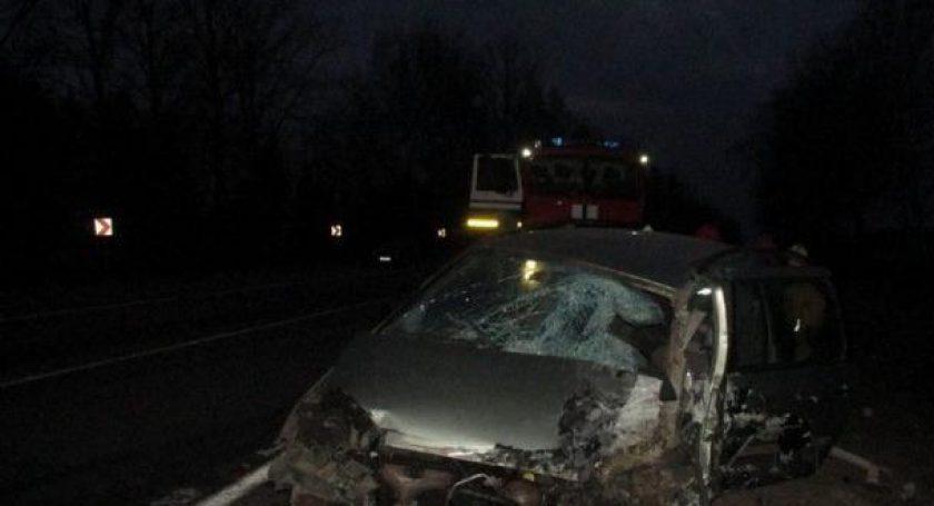 ВЛепельском районе столкнулись фура илегковой автомобиль