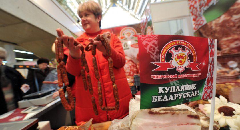 Поставки белорусского продовольствия вРФ увеличились в 2017-ом