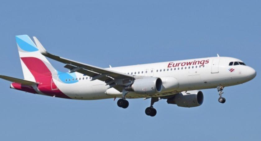 Самолет компании Eurowings зашел наэкстренную посадку вПраге