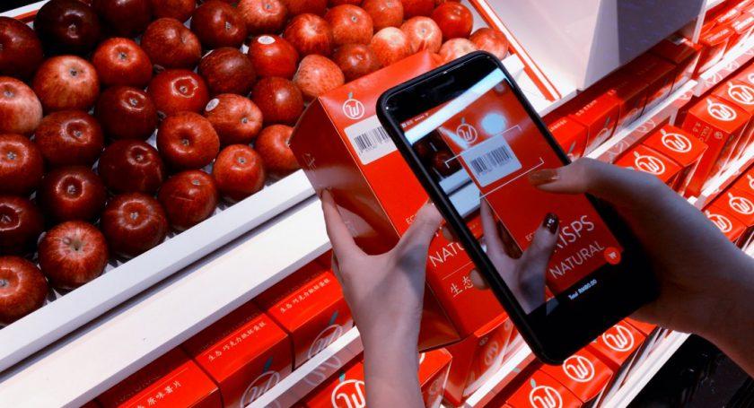 В «Поднебесной» открылся мобильный магазин без продавцов