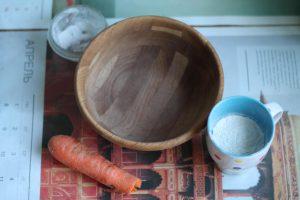 Продукты для морковных драников