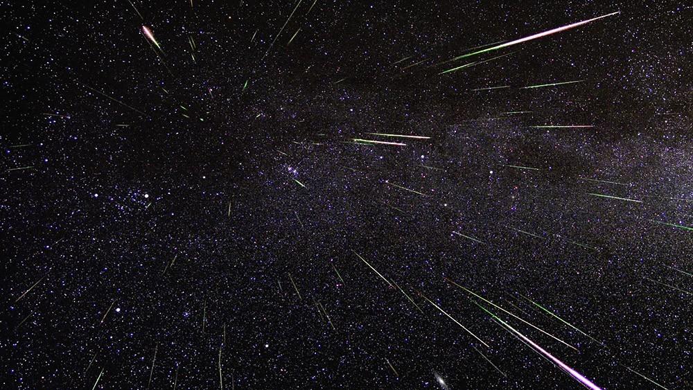 В ночь с 12 на 13 августа белорусы наблюдали за звездопадом Персеиды