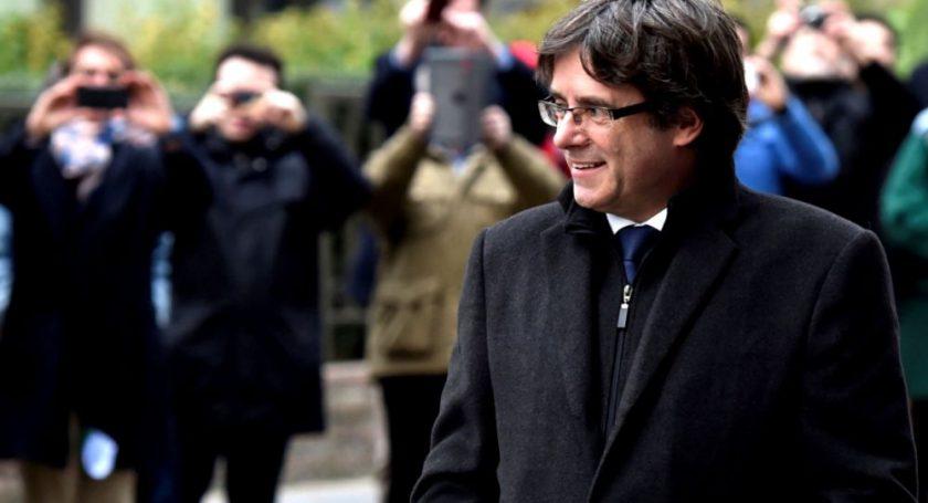 Экс-лидер Каталонии Карлес Пучдемон сдался милиции Бельгии