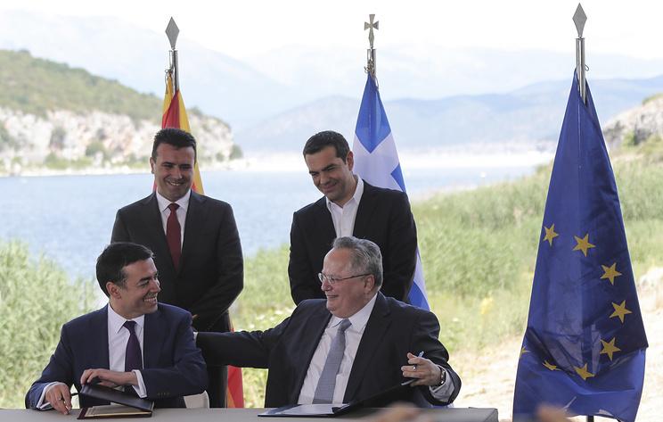 Македония всё-таки изменит своё название