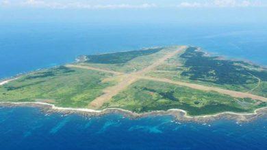 Остров посреди моря