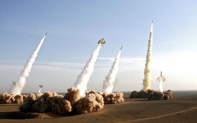 Стартующая группа ракет