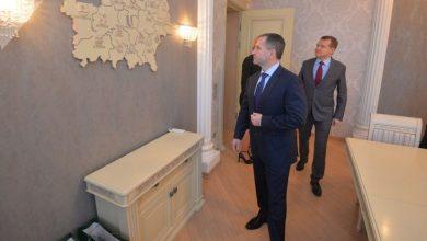 Посол России в Беларуси Михаил Бабич в Гомельской области