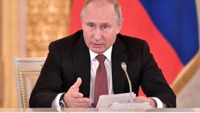 Выступление президента России Путина
