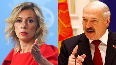 Мария Захарова и Александр Лукашенко