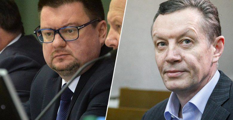 Слева - Игорь Лосицкий. Справа -Владимир Кравченок