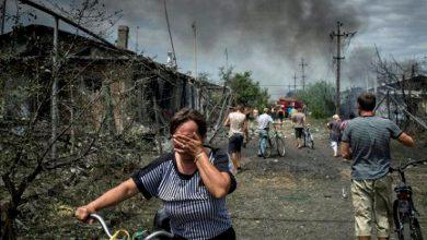 Мирное население под обстрелом