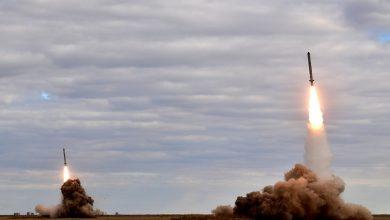 Пуск ракет 9м729