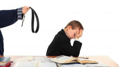 Школьнику грозят ремнем