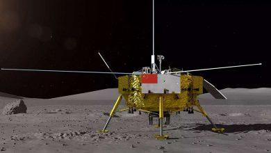 Китайский зонд на Луне