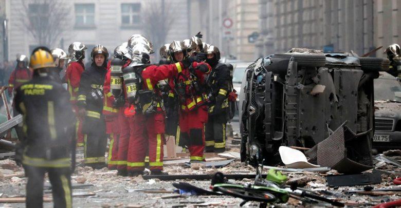спасатели Парижа