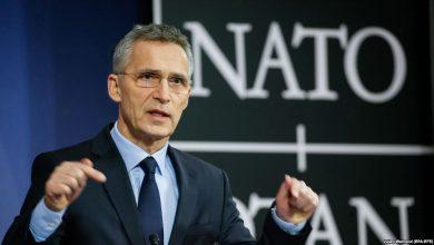 Генсек НАТО Столтенберг на пресс-конференции