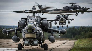 Российские вертолеты в Сирии взлетают с авиабазы