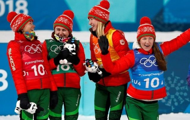 Спортсменки Беларуси