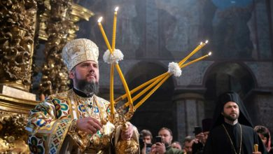Епифаний, глава Православной церкви Украины