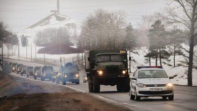 Военная автоколонна