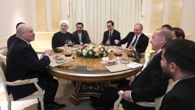 Президенты России, Беларуси, Турции и Ирана на неформальной встрече в Сочи