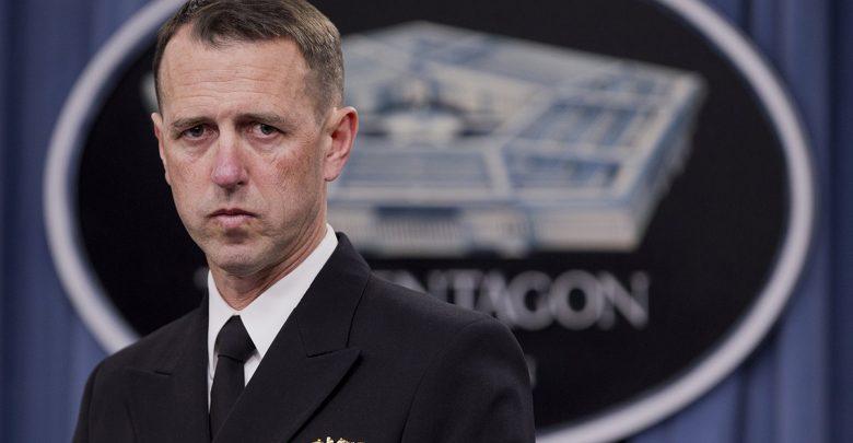 Адмирал ВМС США Джон Ричардсон в Пентагоне