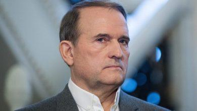 глава организации «Украинский выбор — право народа» Виктор Медведчук