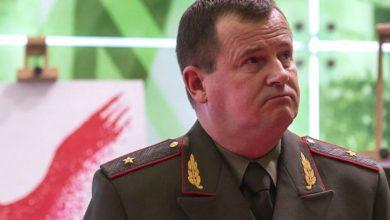 министр обороны Беларуси Андрей Равков
