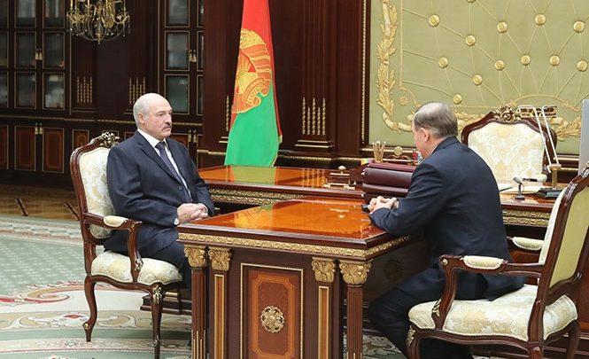 Президент Беларуси Лукашенко и Шейман