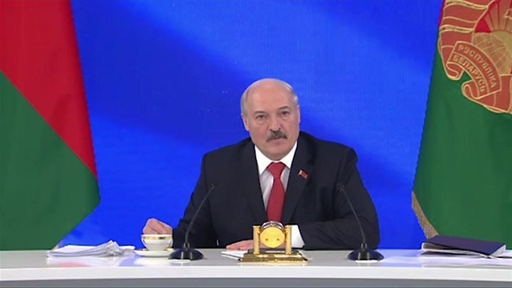 """Лукашенко в студии """"Болшого разговора"""""""