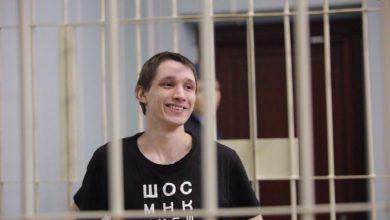 Анархист Полиенко за решёткой