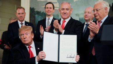 Дональд Трамп подписал указ о признании суверенитета Израиля над Голанами