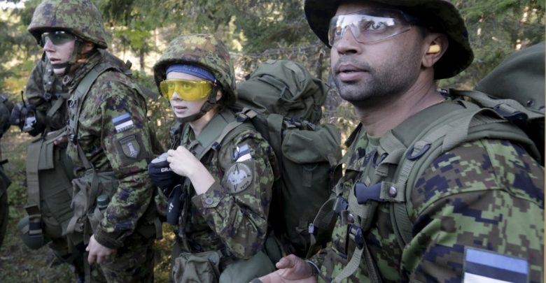 Добровольцы эстонской армии
