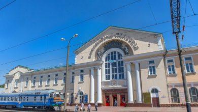 железнодорожный вокзал в Барановичах