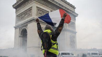 """протесты """"жёлтых жилетов"""" во Франции"""