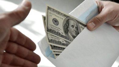 коррупция, взятки, деньги в конверте